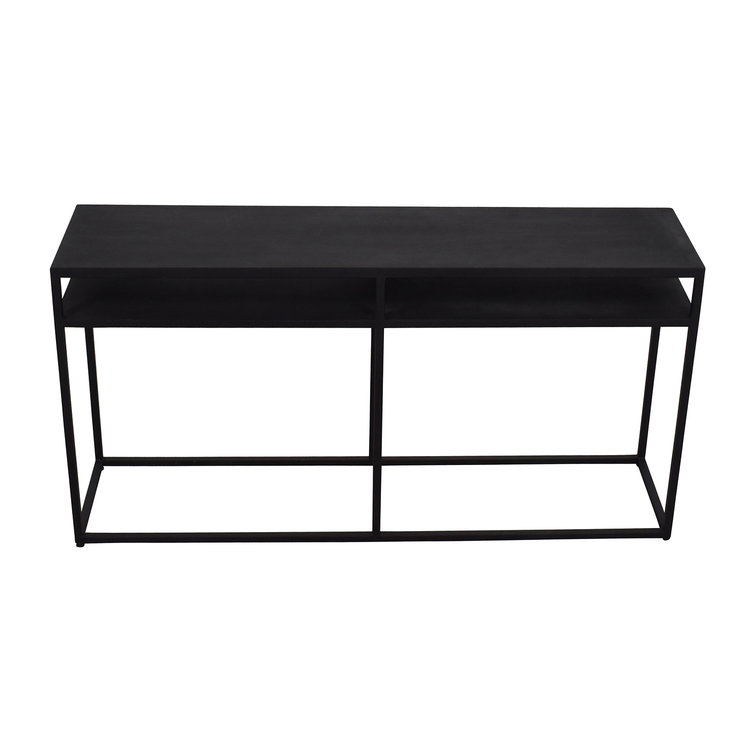 Pottery Barn Pottery Barn Tanner Iron TV Console coupon