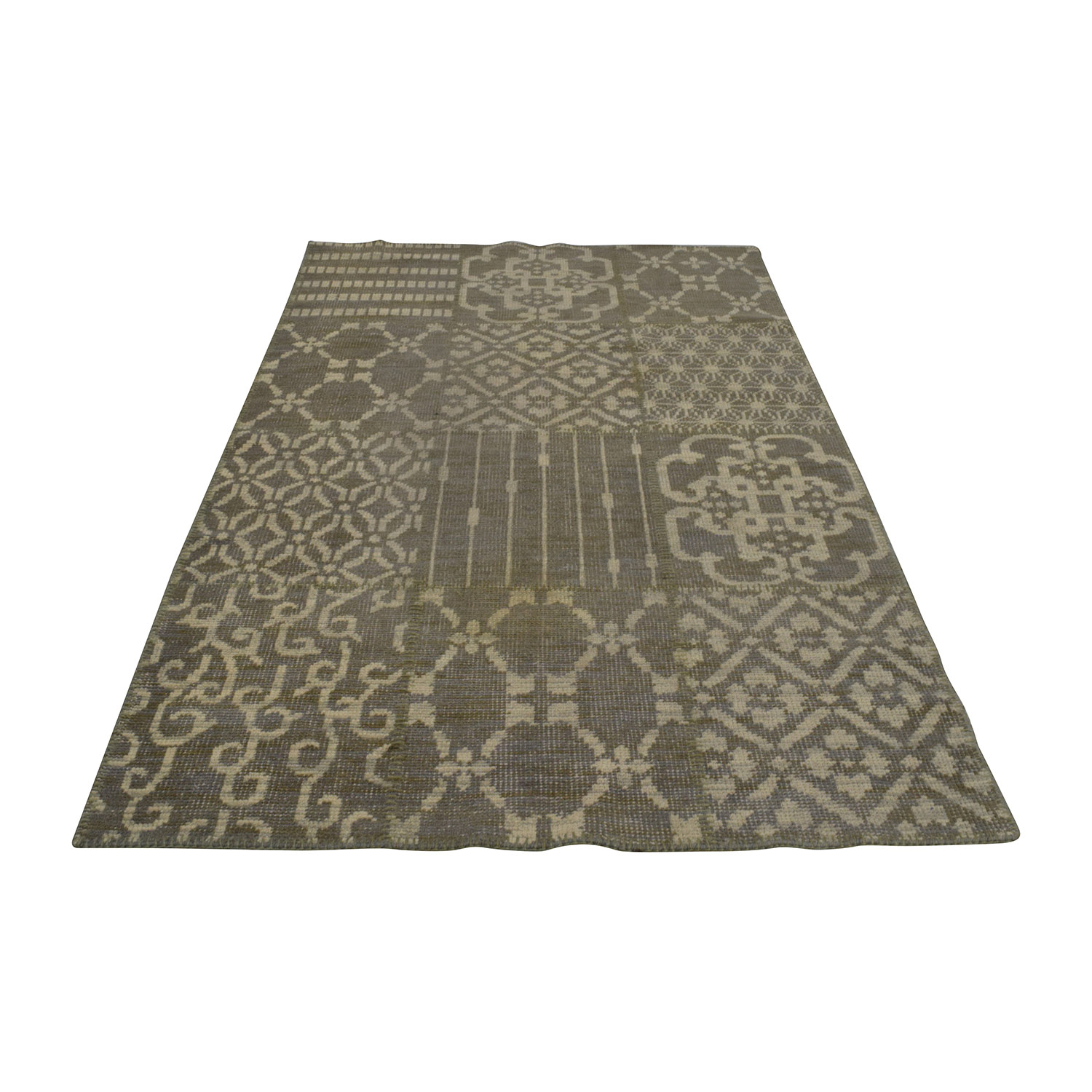buy Pottery Barn Beige and Tan Rug Pottery Barn Rugs