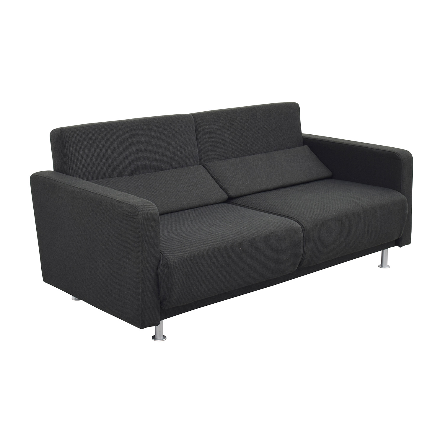 67 off boconcept boconcept melo black sofa bed sofas Boconcept sofa price