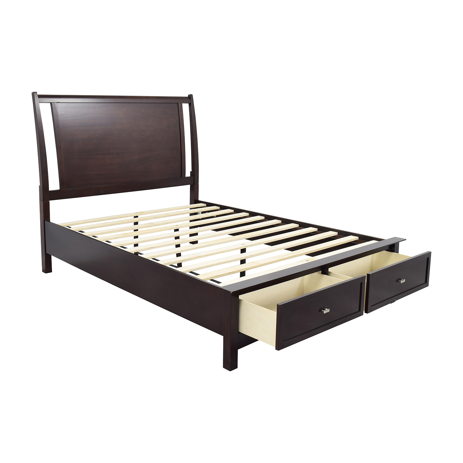 Bobs Furniture Bobs Furniture Wooden Queen Size Storage Bed price