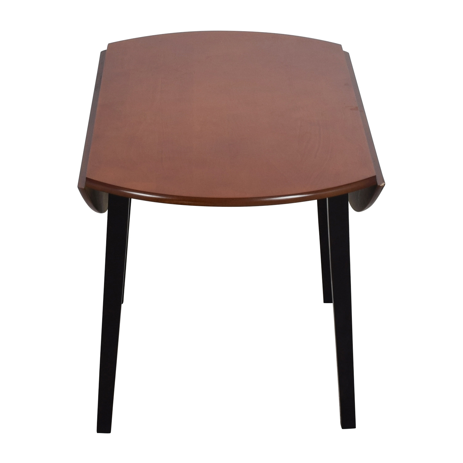 Bobs Furniture Bobs Furniture Brown Wood Round Kitchen Table nj