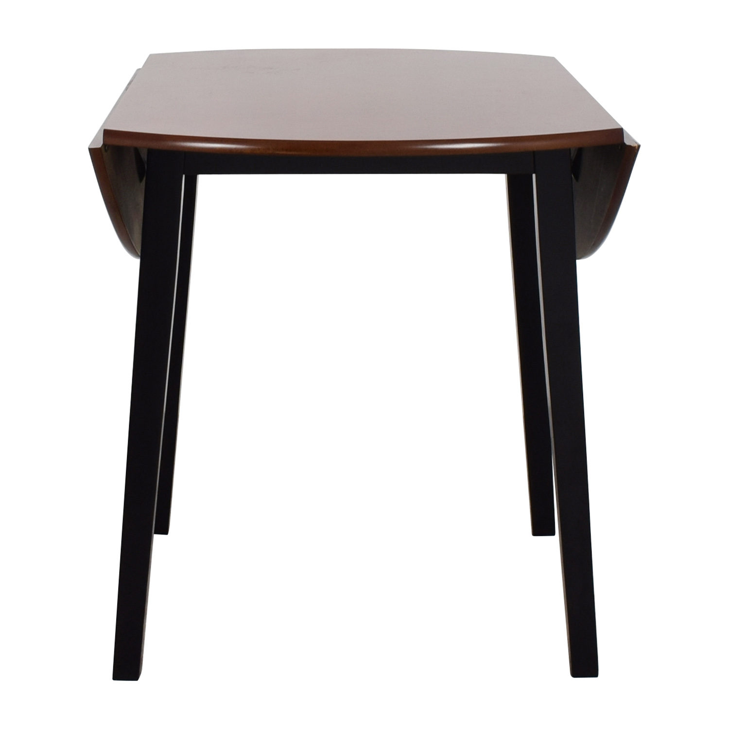 Bobs Furniture Bobs Furniture Brown Wood Round Kitchen Table discount