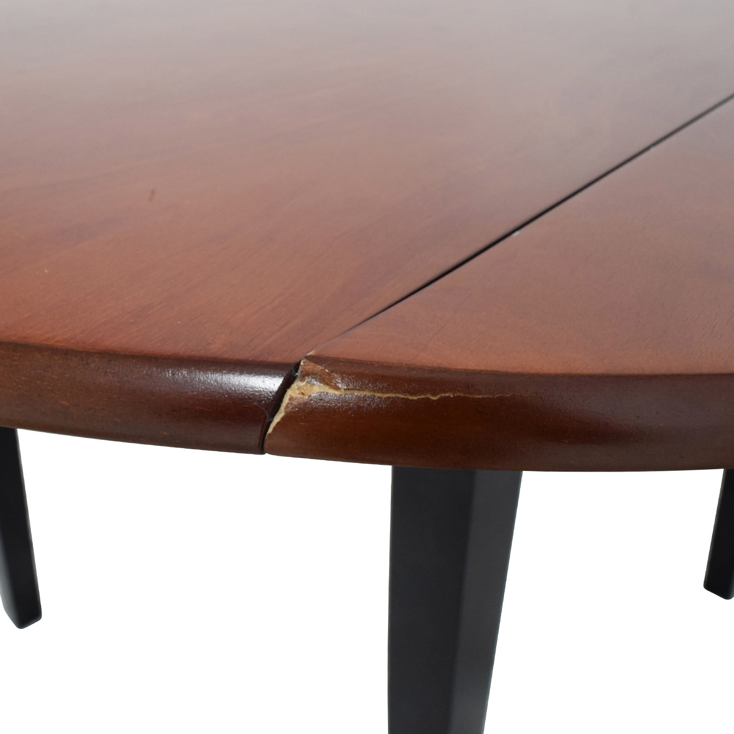 Bobs Furniture Bobs Furniture Brown Wood Round Kitchen Table Dinner Tables