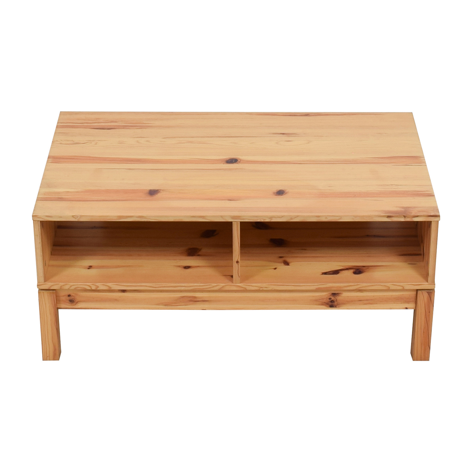 IKEA Husar Pine Wood TV Table sale