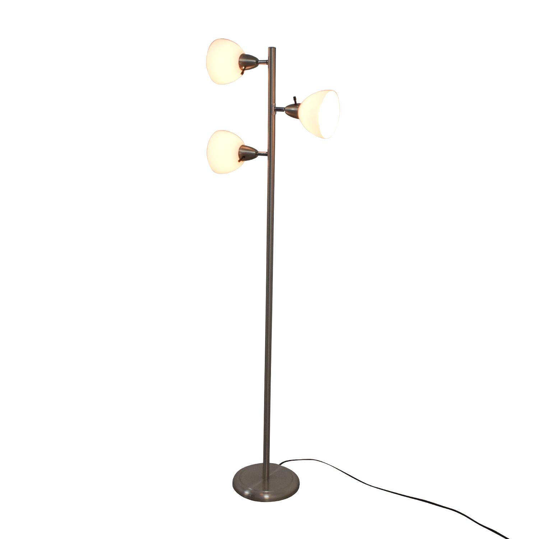 shop Boston Harbor Three-Light Floor Lamp Boston Harbor Lamps