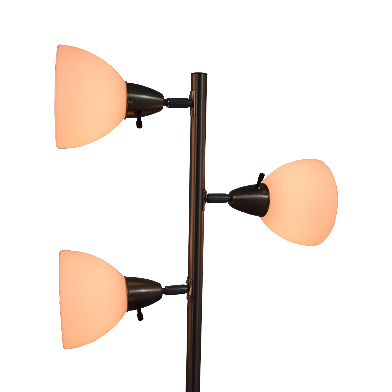 buy Boston Harbor Three-Light Floor Lamp Boston Harbor Lamps