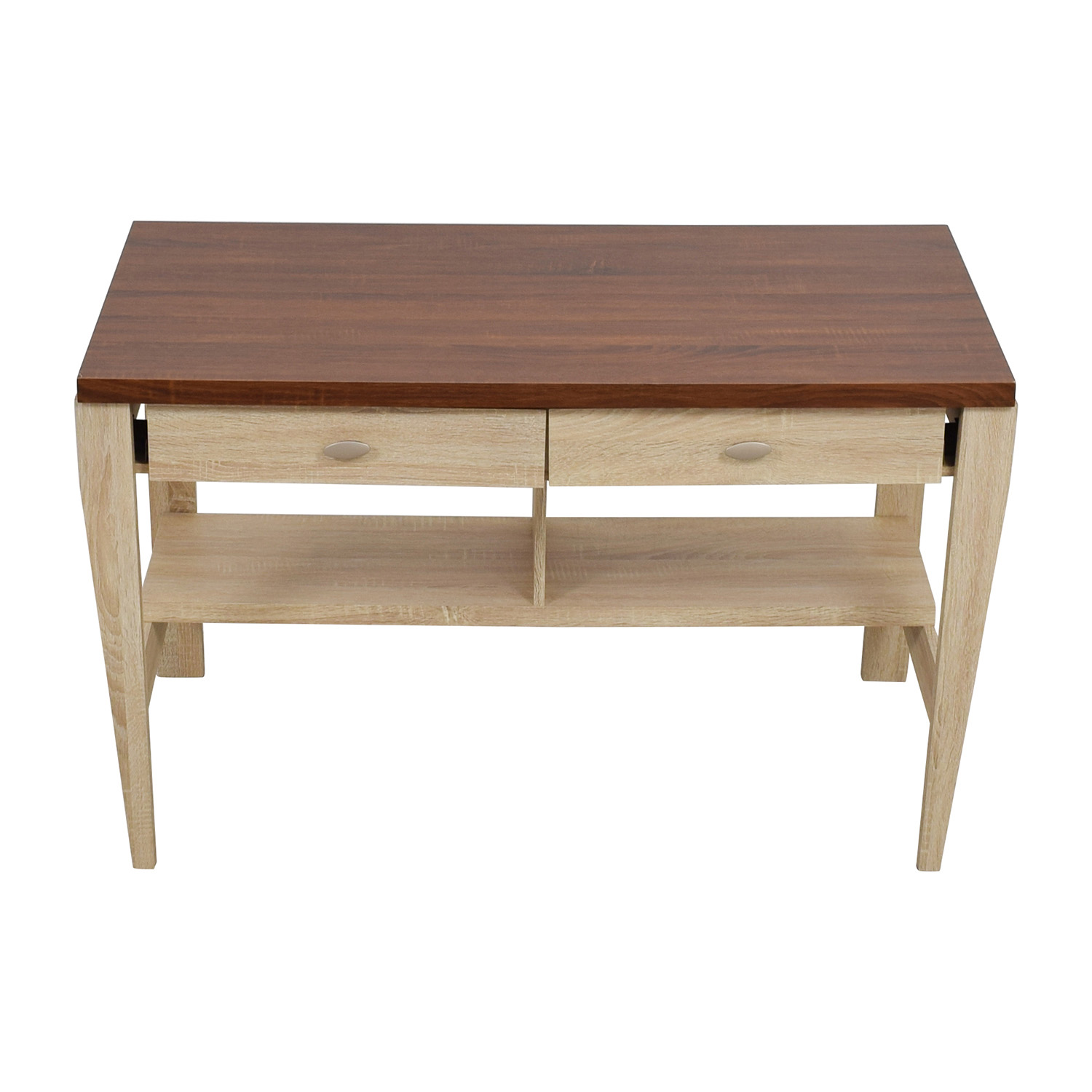 shop Joss & Main Baxton Two-Toned Writing Desk Joss and Main Home Office Desks
