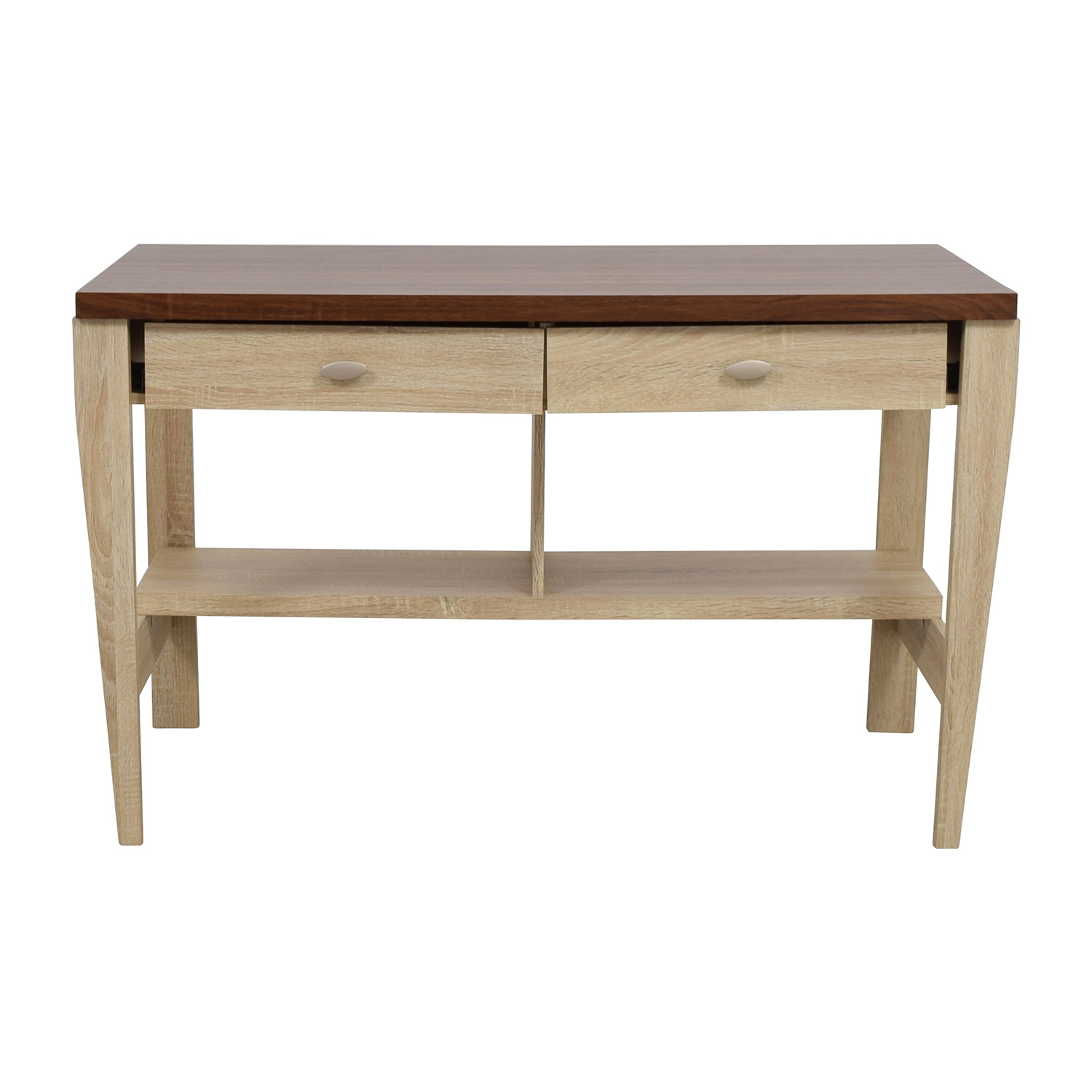 buy Joss & Main Baxton Two-Toned Writing Desk Joss and Main Home Office Desks