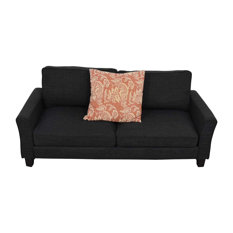57% OFF Joss & Main Joss & Main Keenan Charcoal Grey Sofa Sofas