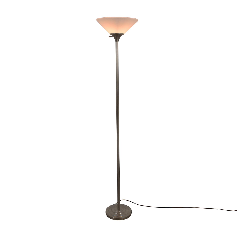 shop Boston Harbor Torchiere Floor Lamp Boston Harbor