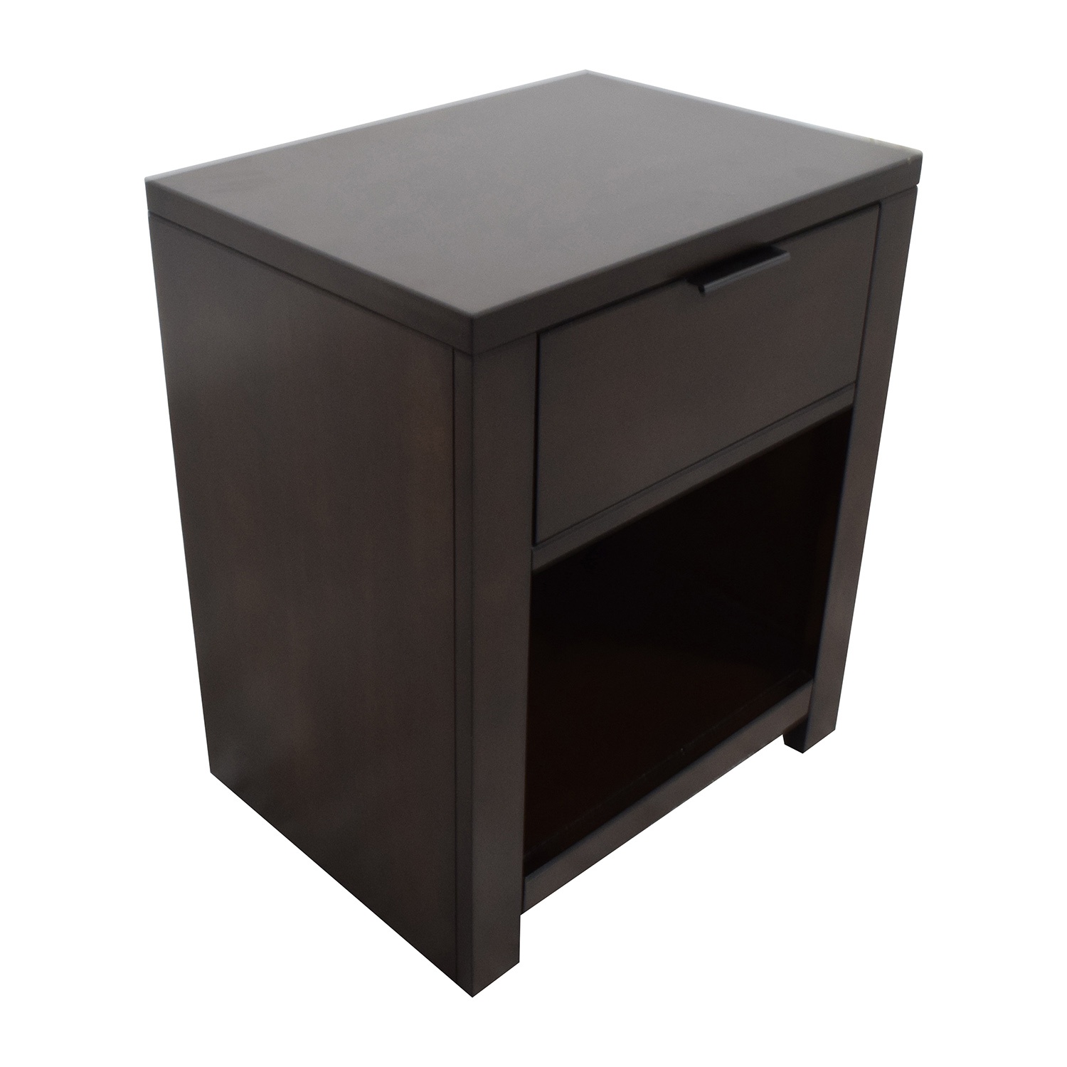 Macys Macys Tribeca Nightstand in Mocha on sale