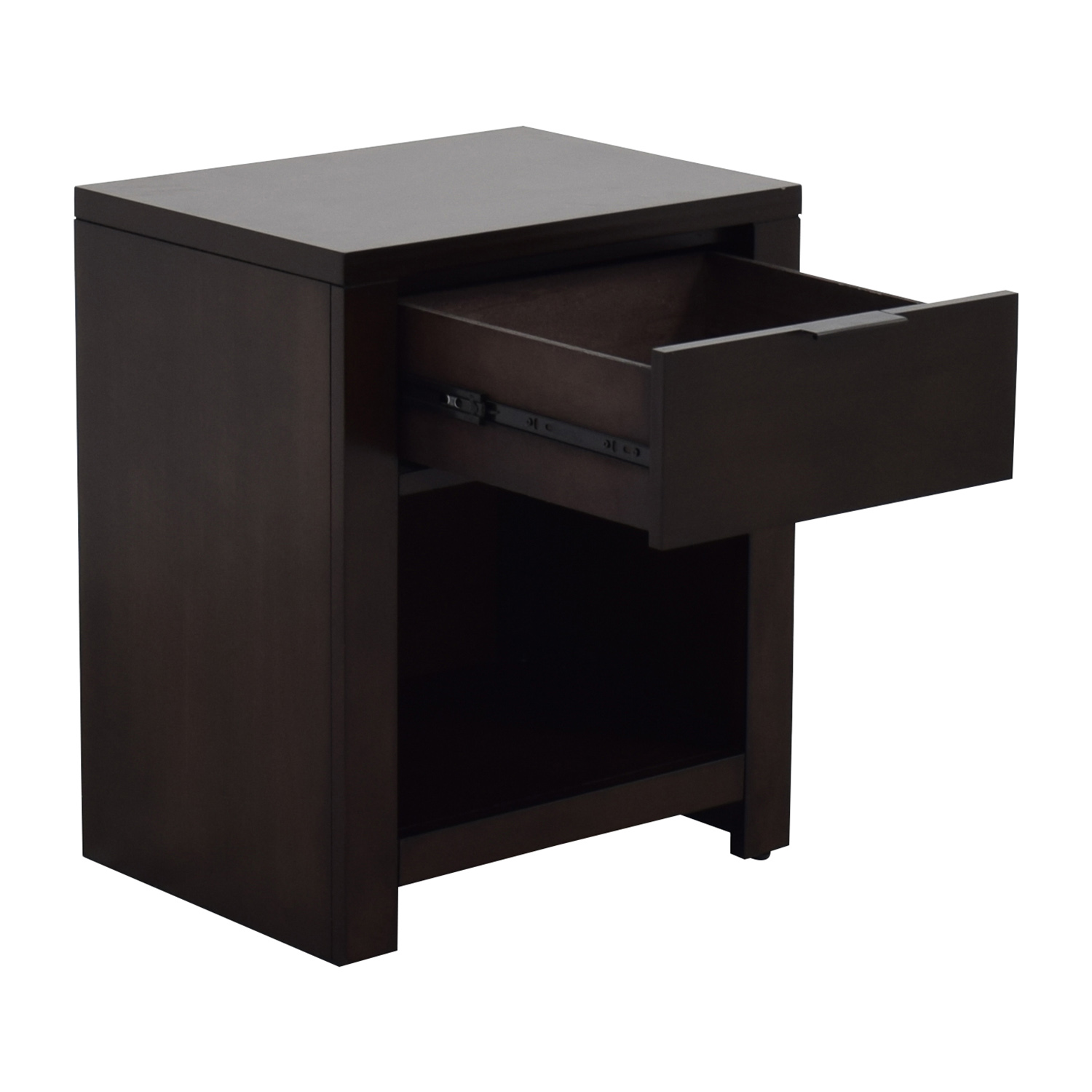 shop Macys Tribeca Nightstand in Mocha Macys