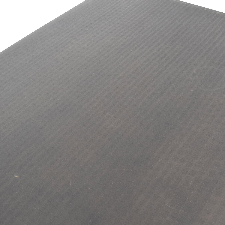 Black Modern Metal Coffee Table / Tables