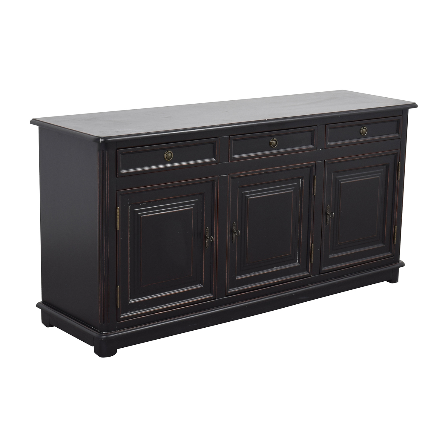 shop Ballard Designs Dehavilland 3-Drawer Console or Sidetable Ballard Designs Storage