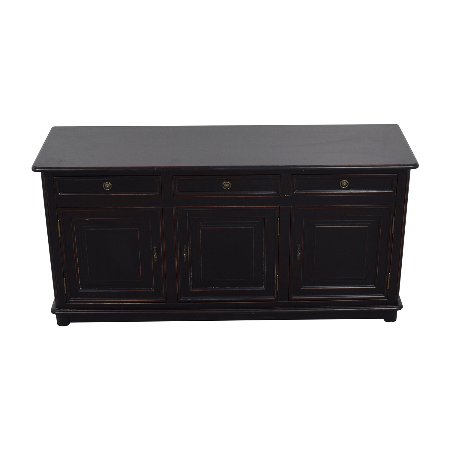 shop Ballard Designs Dehavilland 3-Drawer Console or Sidetable Ballard Designs Dressers