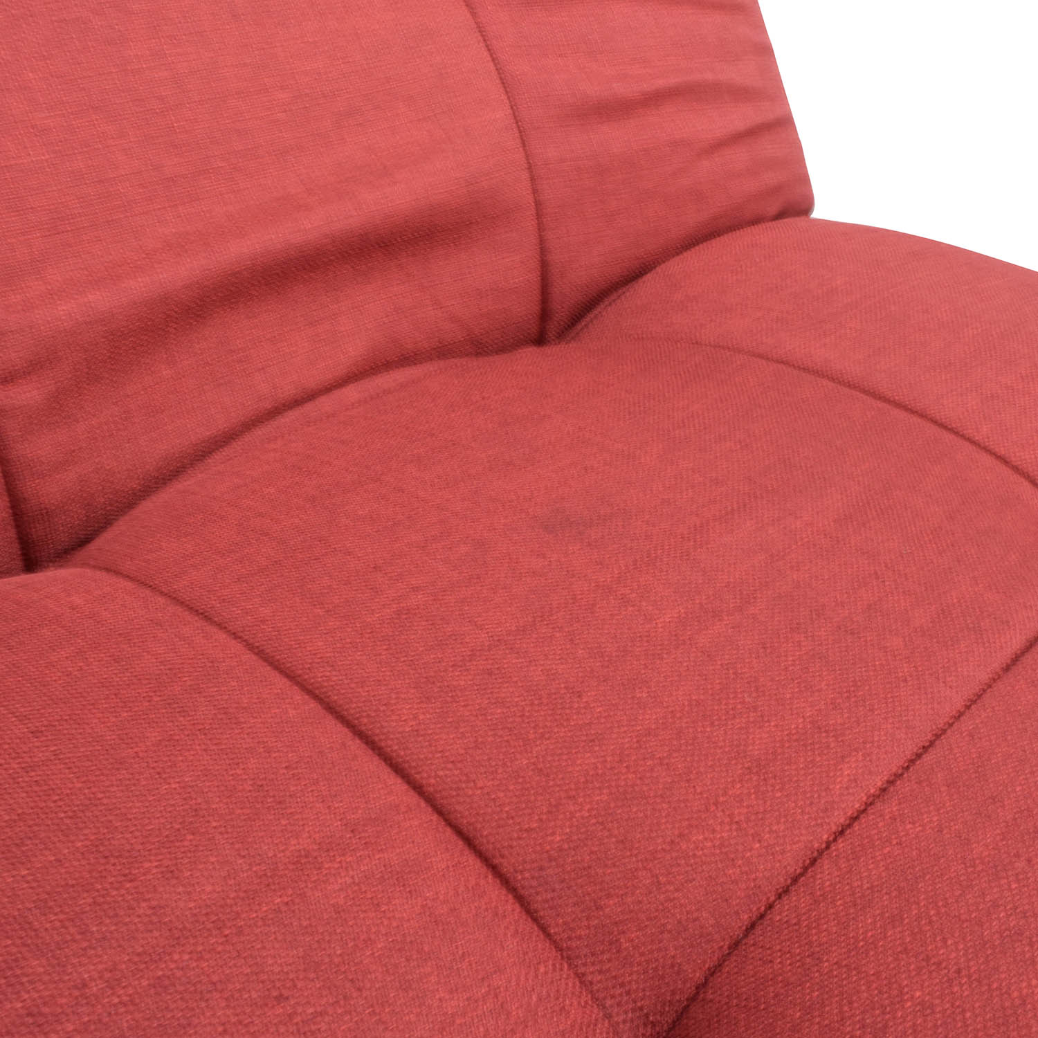 79 off red tufted futon sofa bed sofas