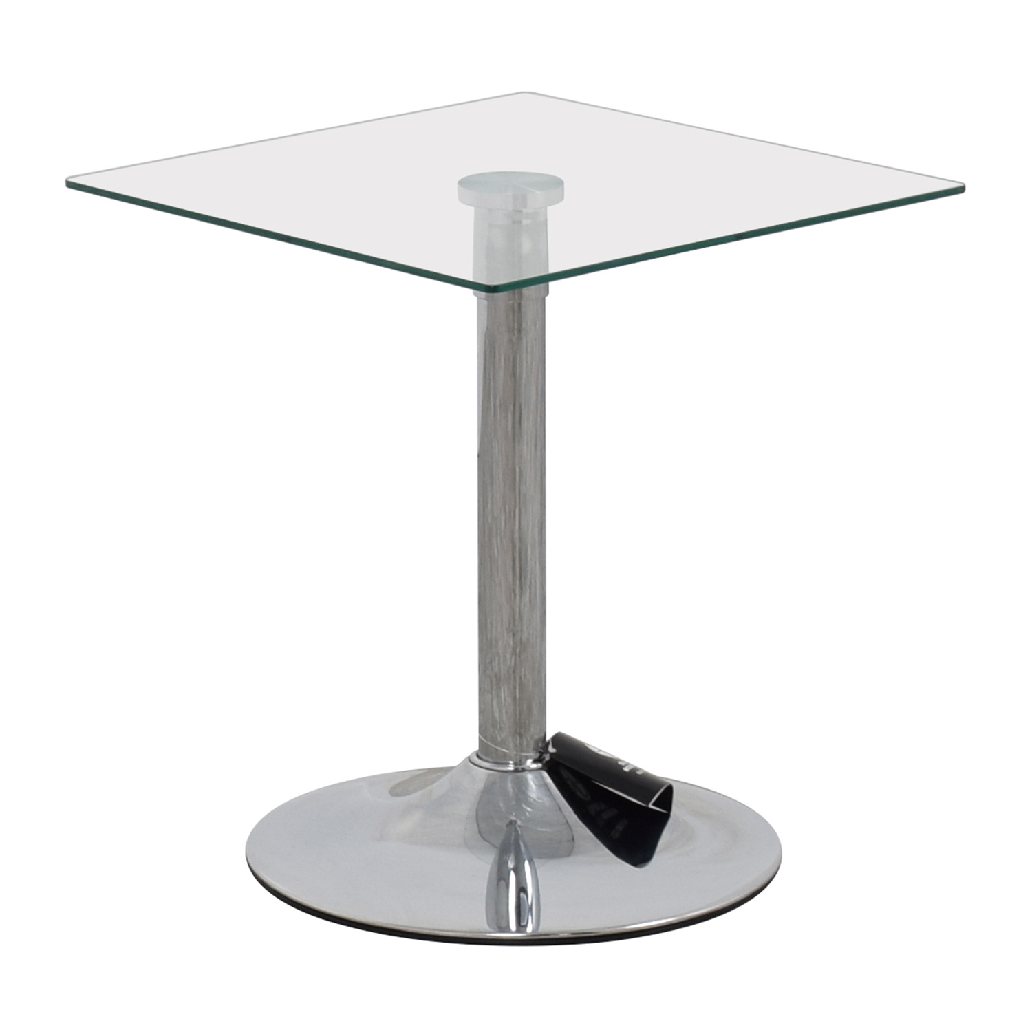 shop InMod Butler Glass Top End Table InMod End Tables