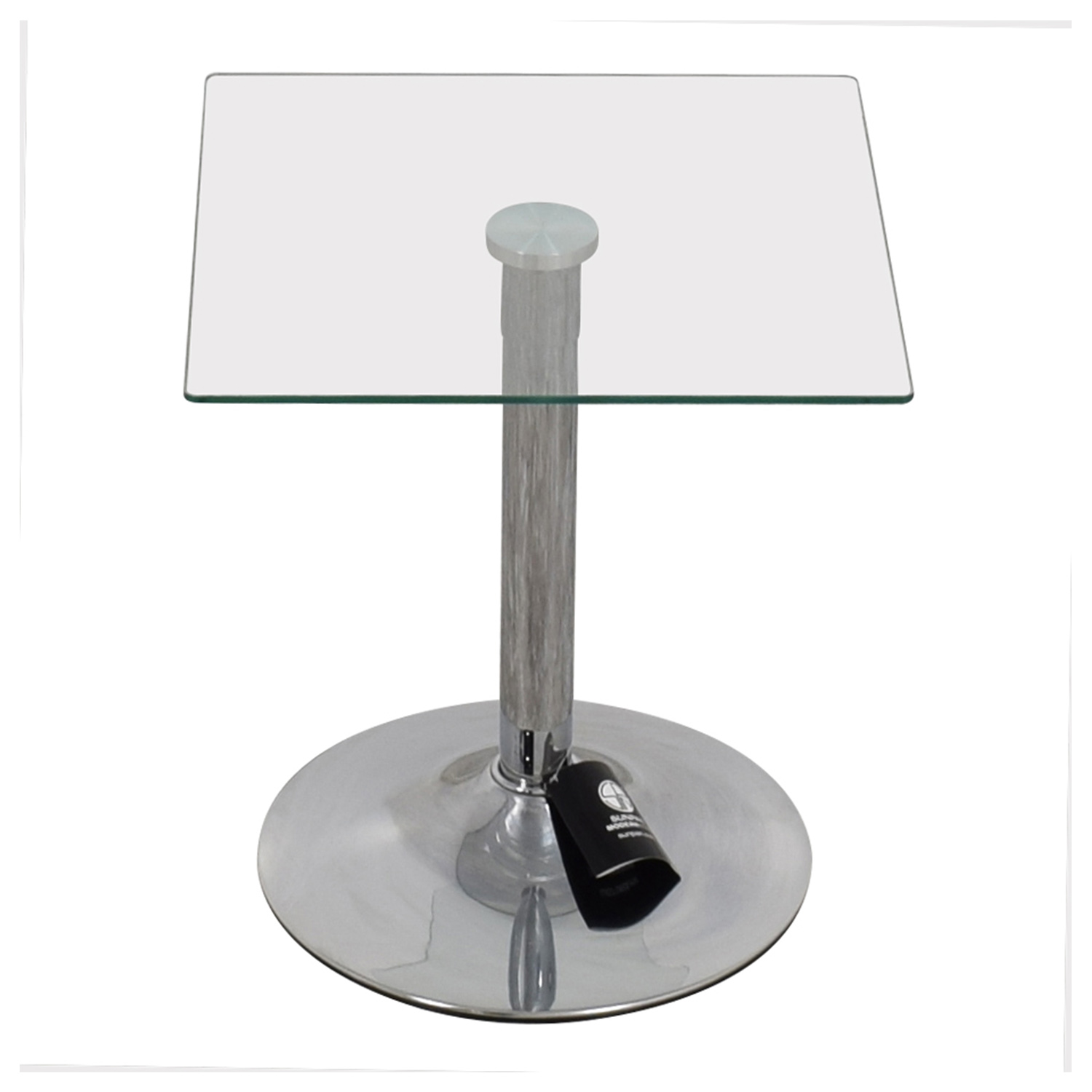 InMod InMod Butler Glass Top End Table nyc