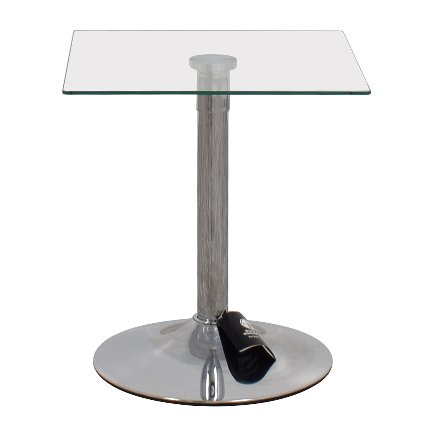 InMod InMod Butler Glass Top End Table discount