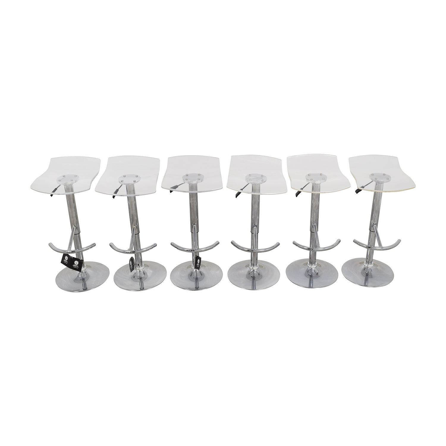 ... Shop InMod California Ghost Adjustable Stools InMod Chairs ...
