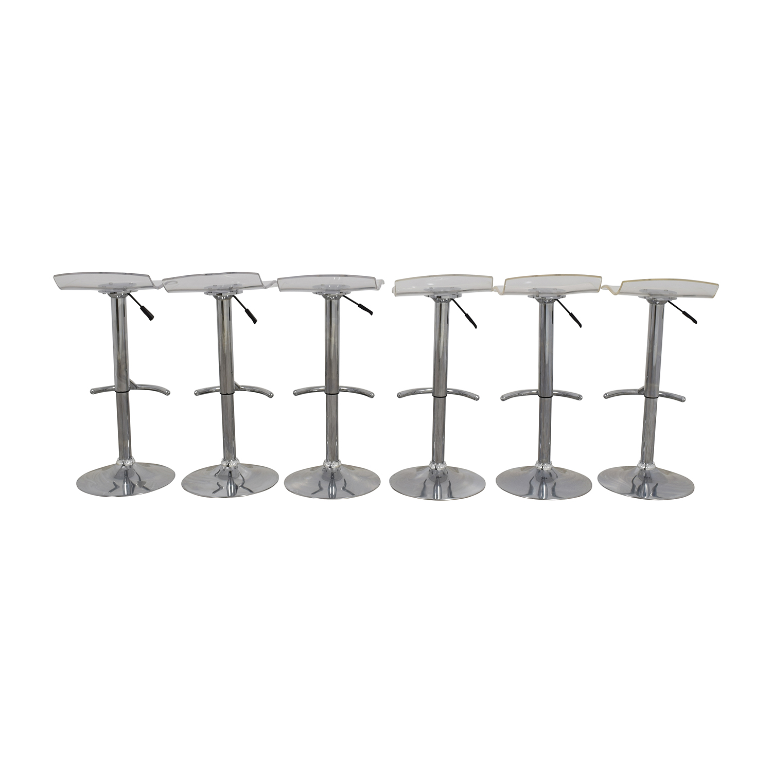 InMod California Ghost Adjustable Stools sale