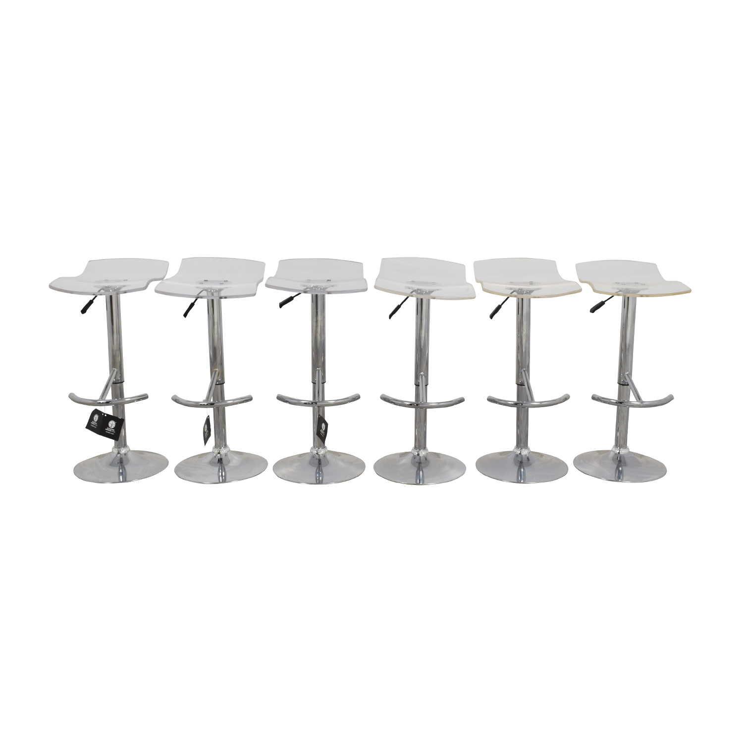 InMod California Ghost Adjustable Stools / Chairs