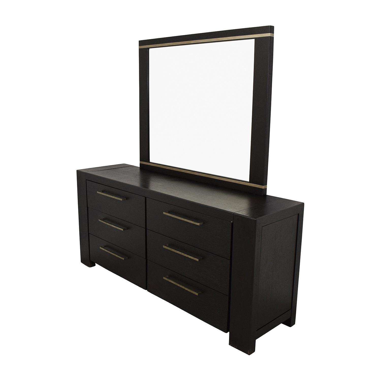 shop Metropolitan Home Metropolitan Home Tocara Dark Tone Dresser & Mirror online