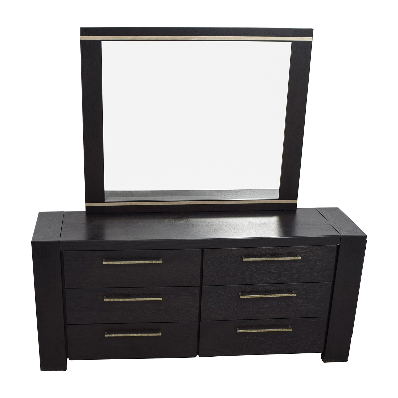 Metropolitan Home Metropolitan Home Tocara Dark Tone Dresser & Mirror price