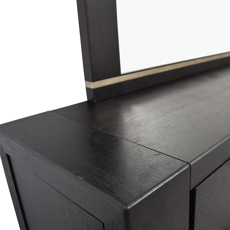 ... Metropolitan Home Metropolitan Home Tocara Dark Tone Dresser U0026 Mirror  For ...