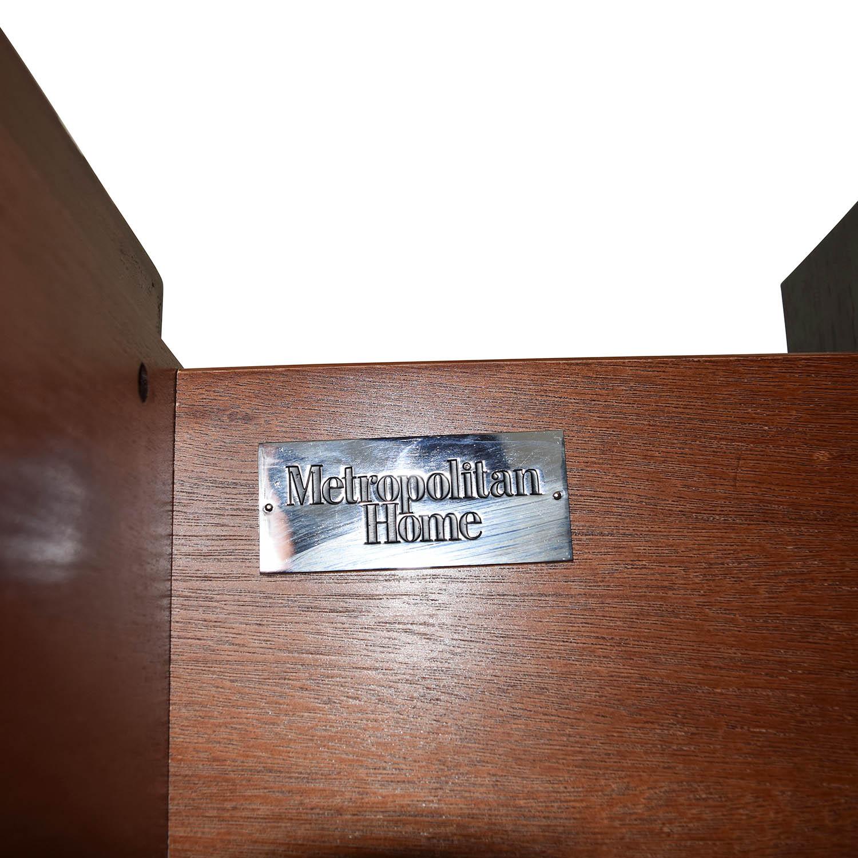 Metropolitan Home Metropolitan Home Tocara Dark Tone Dresser & Mirror Storage