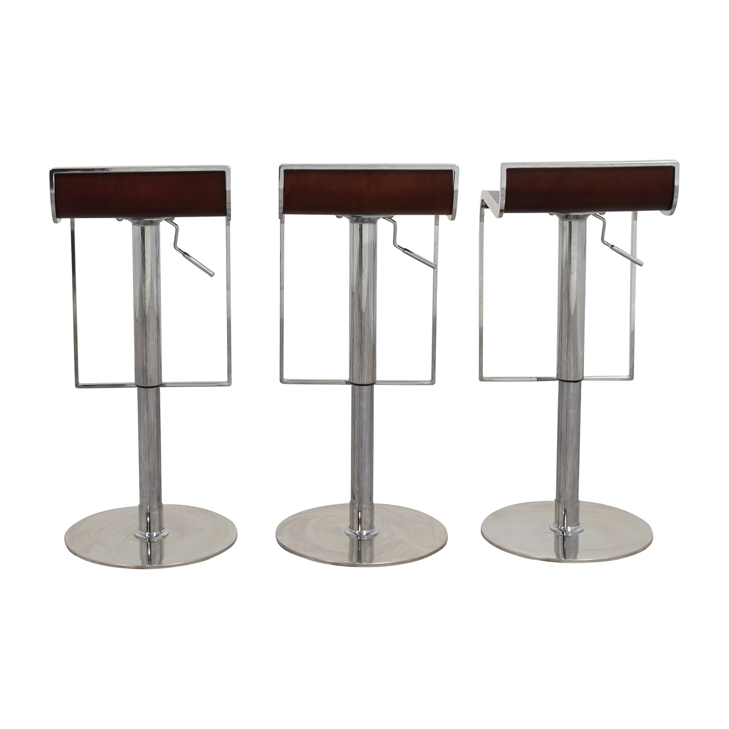 buy InMod InMod Forest Brown Adjustable Bar Counter Stool online
