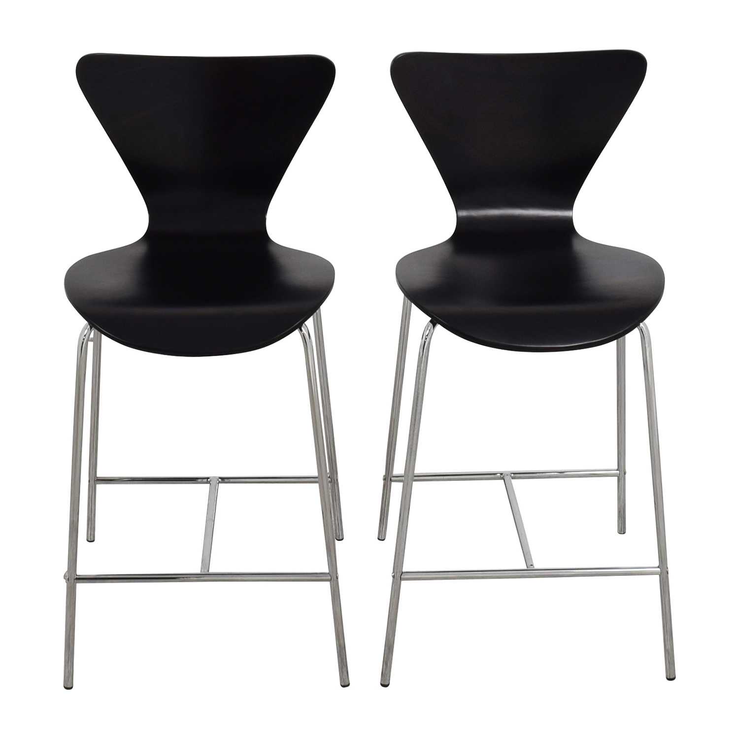 shop InMod Tendy-C Counter Chair Black InMod Stools