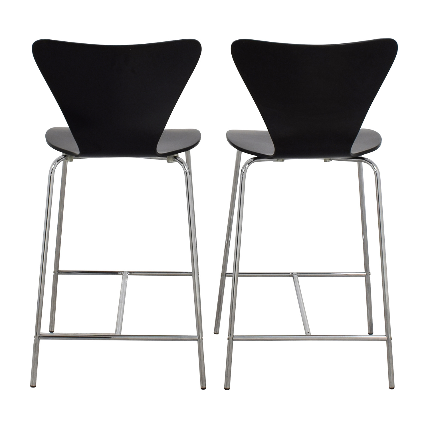 InMod InMod Tendy-C Counter Chair Black Chairs