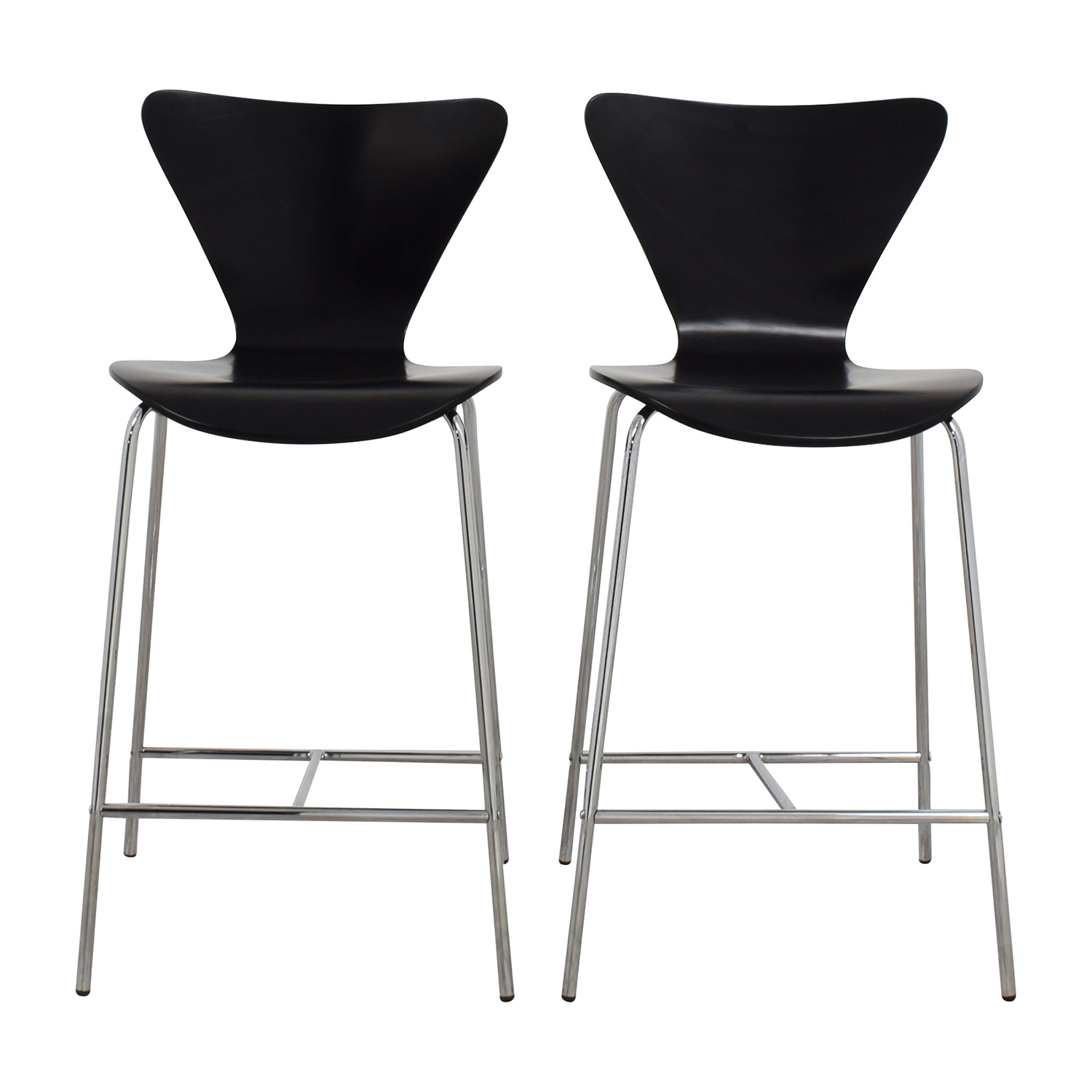 InMod InMod Tendy-C Counter Chair Black dimensions