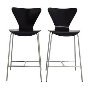 InMod Tendy-C Counter Chair Black Inmod