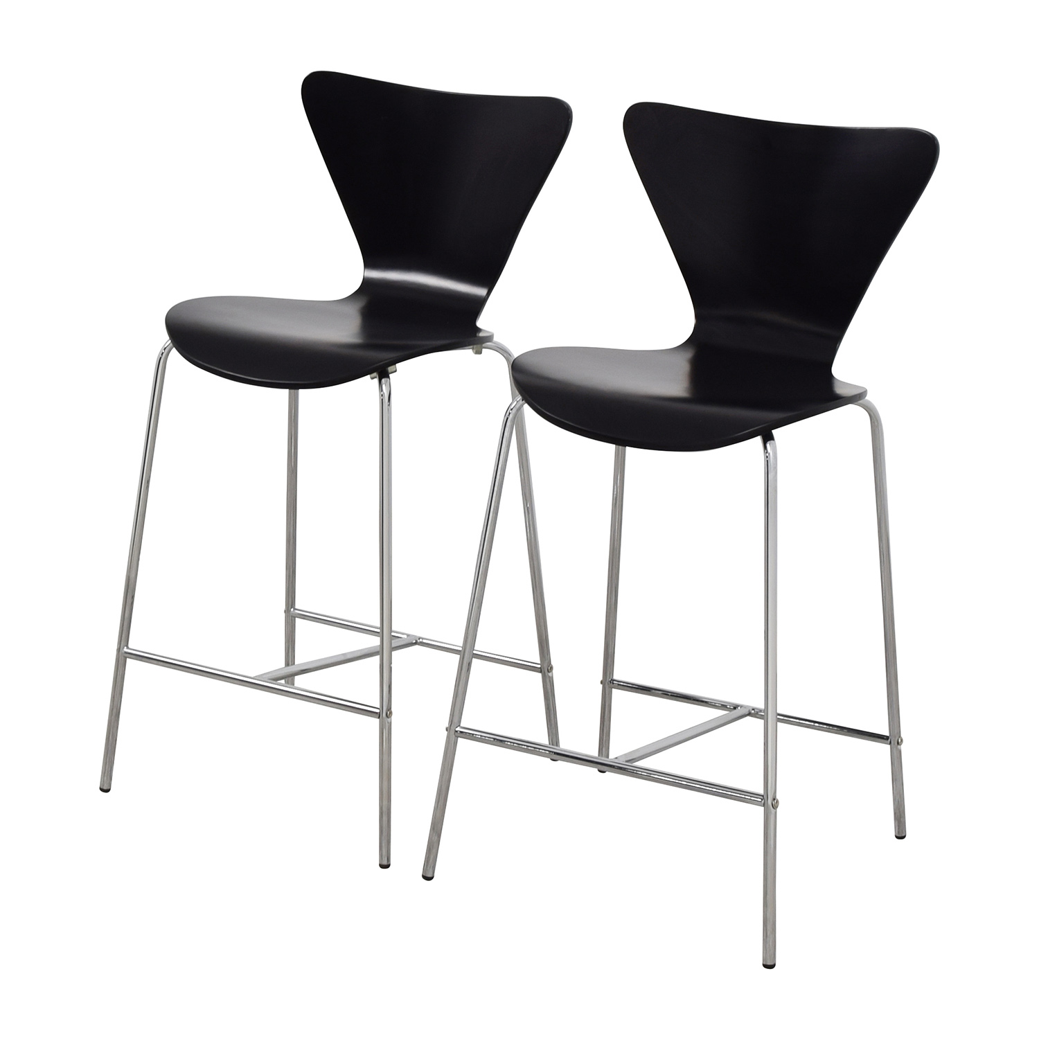 shop InMod InMod Tendy-C Counter Chair Black online