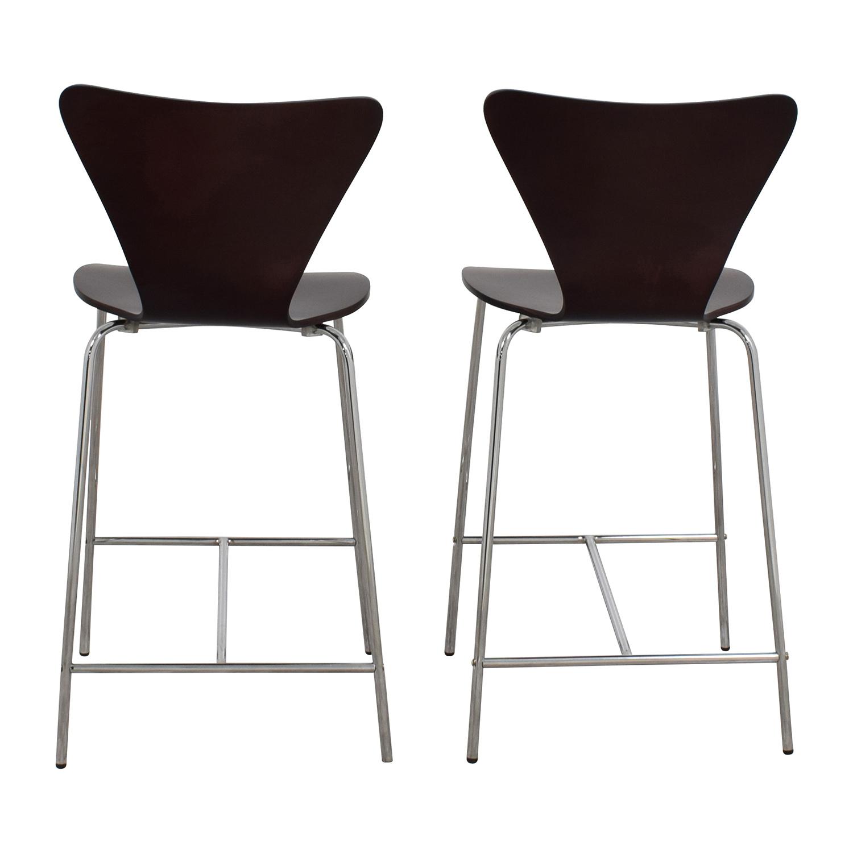 InMod InMod Tendy-C Counter Chair Wenge nyc