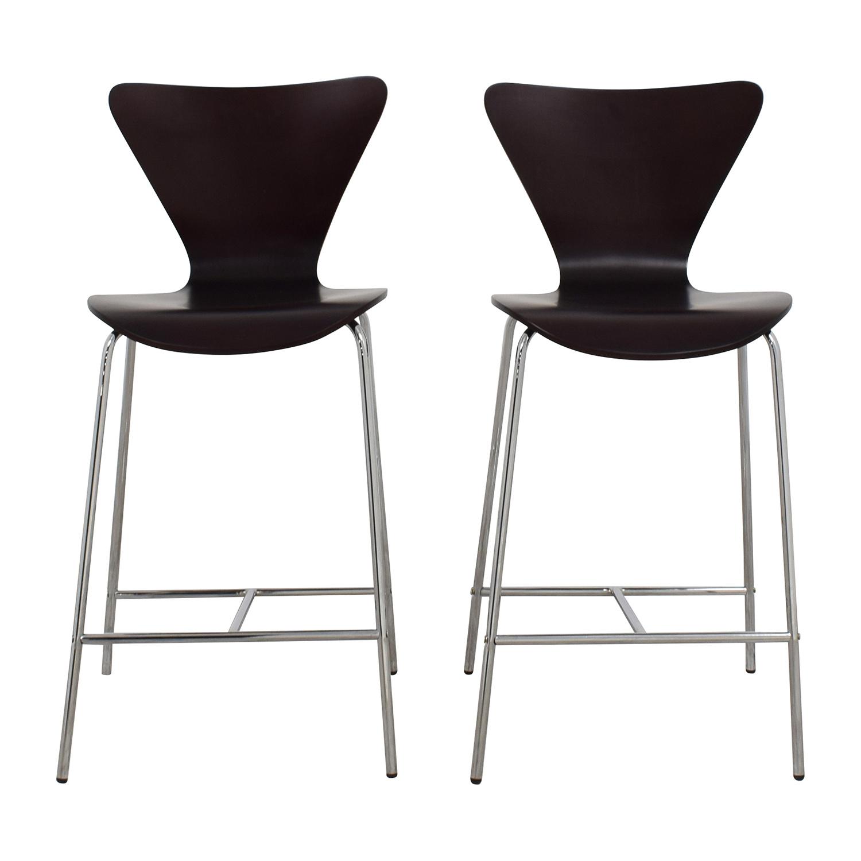 InMod InMod Tendy-C Counter Chair Wenge BROWN