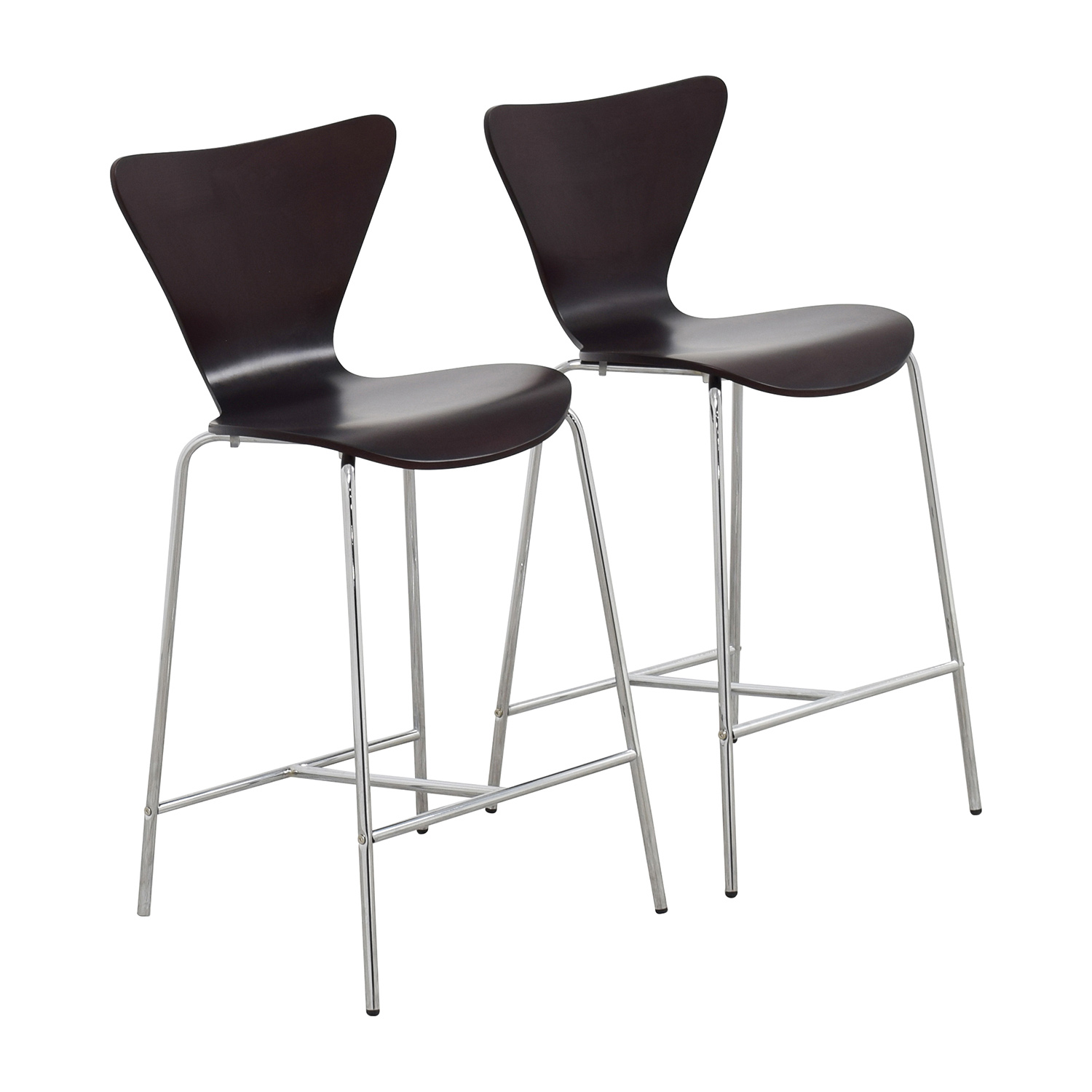 ... InMod InMod Tendy C Counter Chair Wenge Dimensions ...