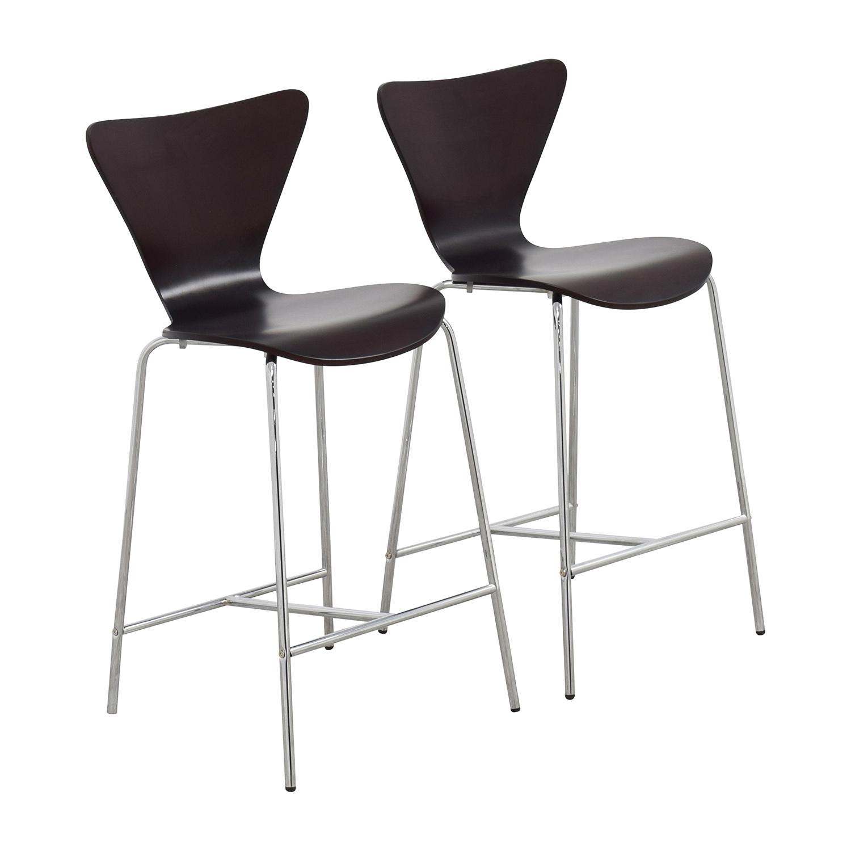 InMod InMod Tendy-C Counter Chair Wenge nj