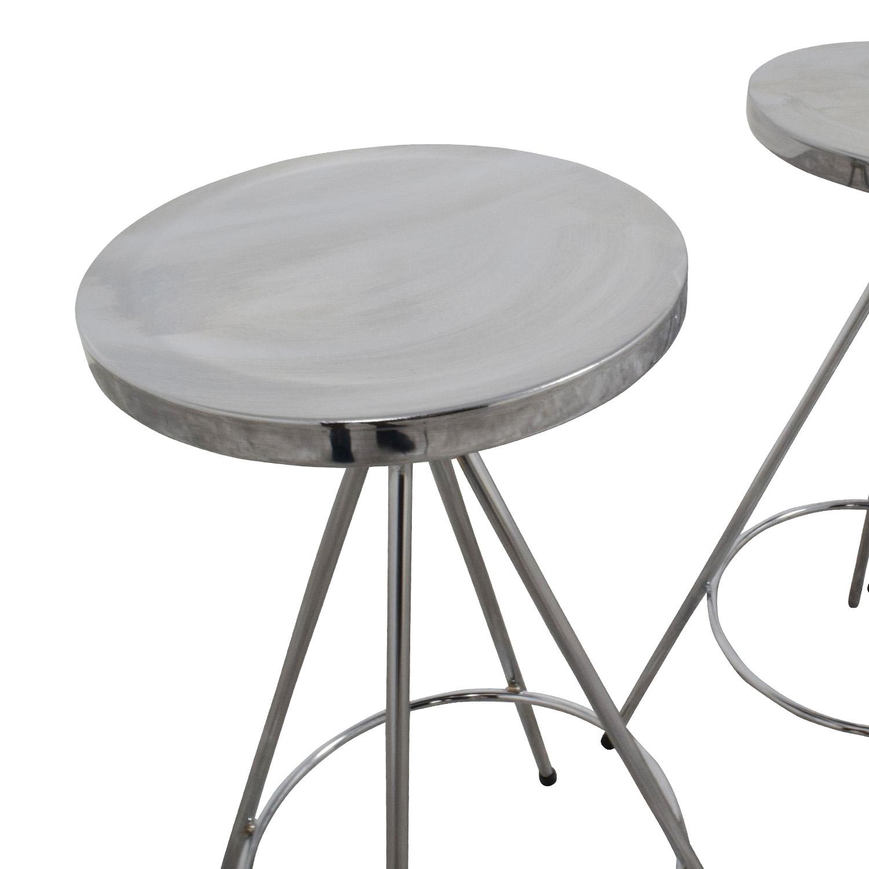 InMod Caroline-CS Swivel Counter Stools / Chairs