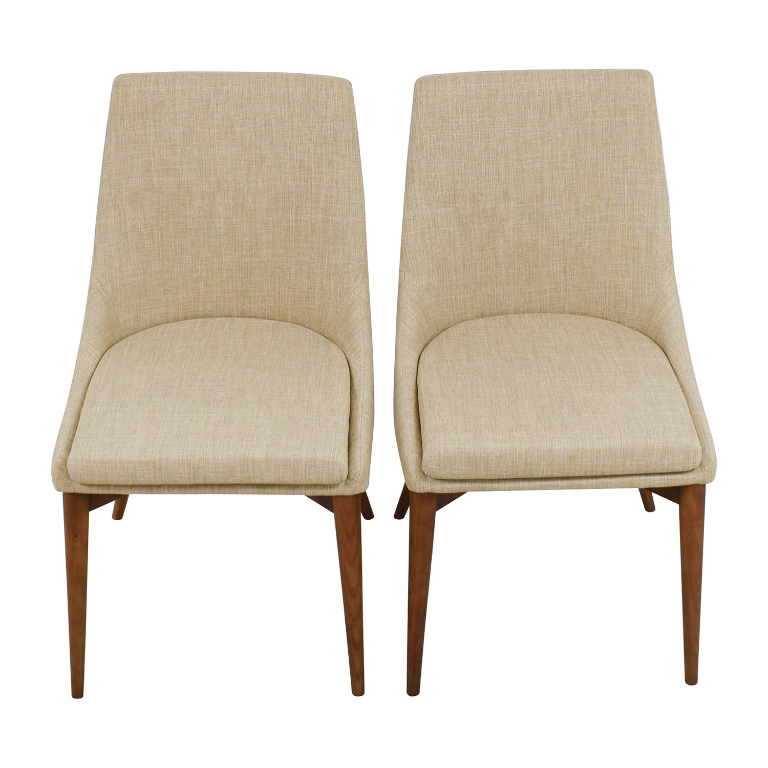 72 off inmod inmod beige calais side chairs chairs for In mod furniture