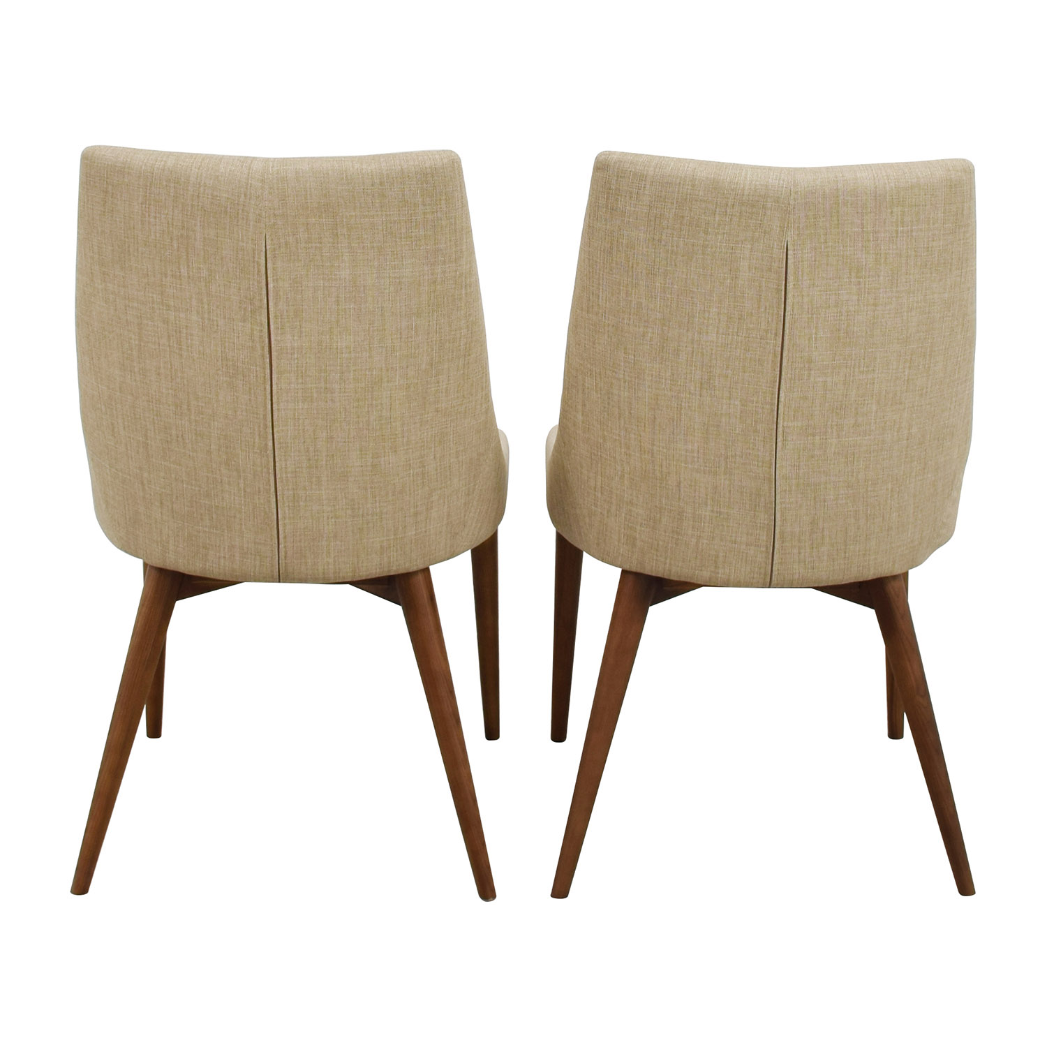 InMod InMod Beige Calais Side Chairs second hand