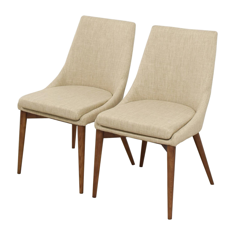 buy InMod InMod Beige Calais Side Chairs online