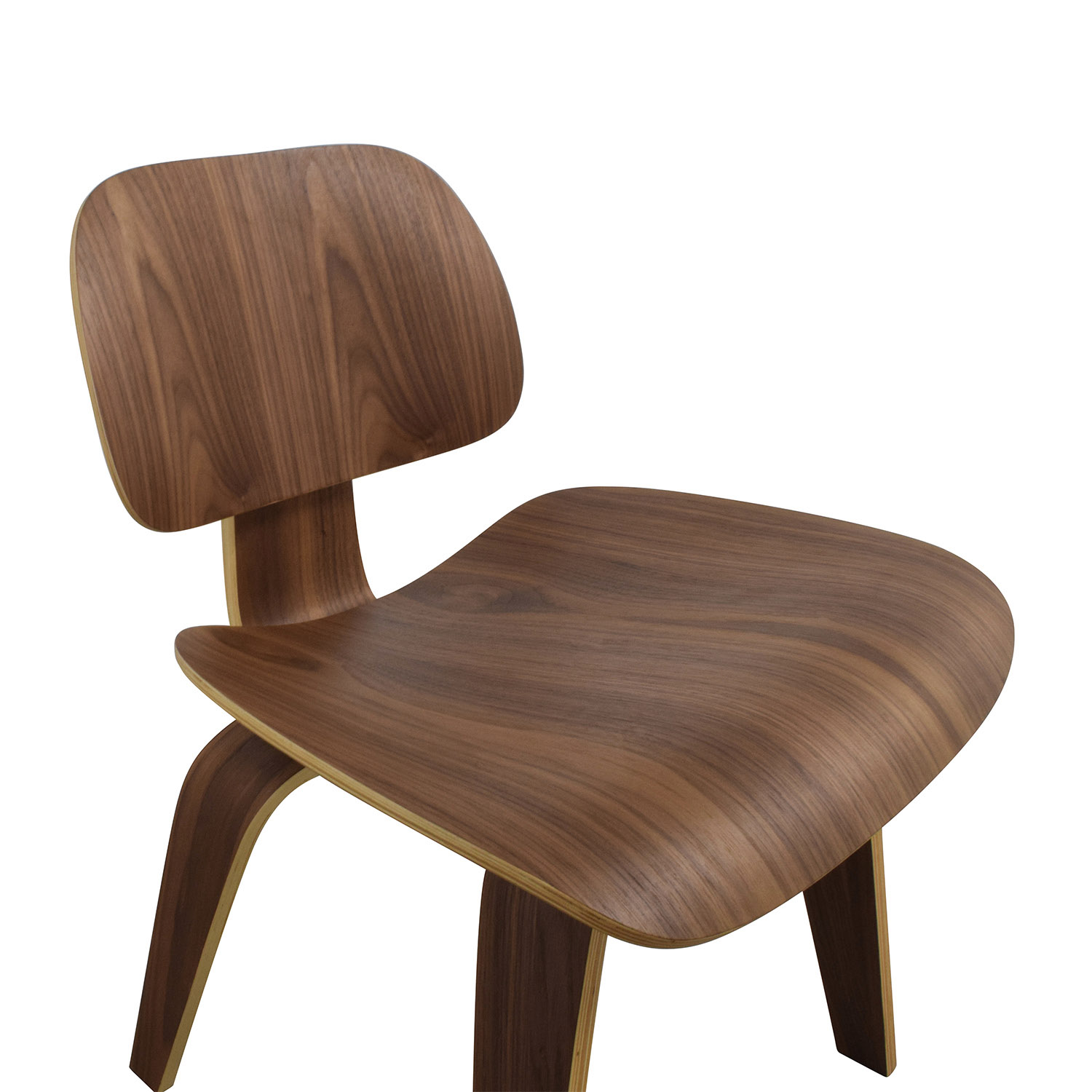 Off inmod plywood dining chair with wood legs