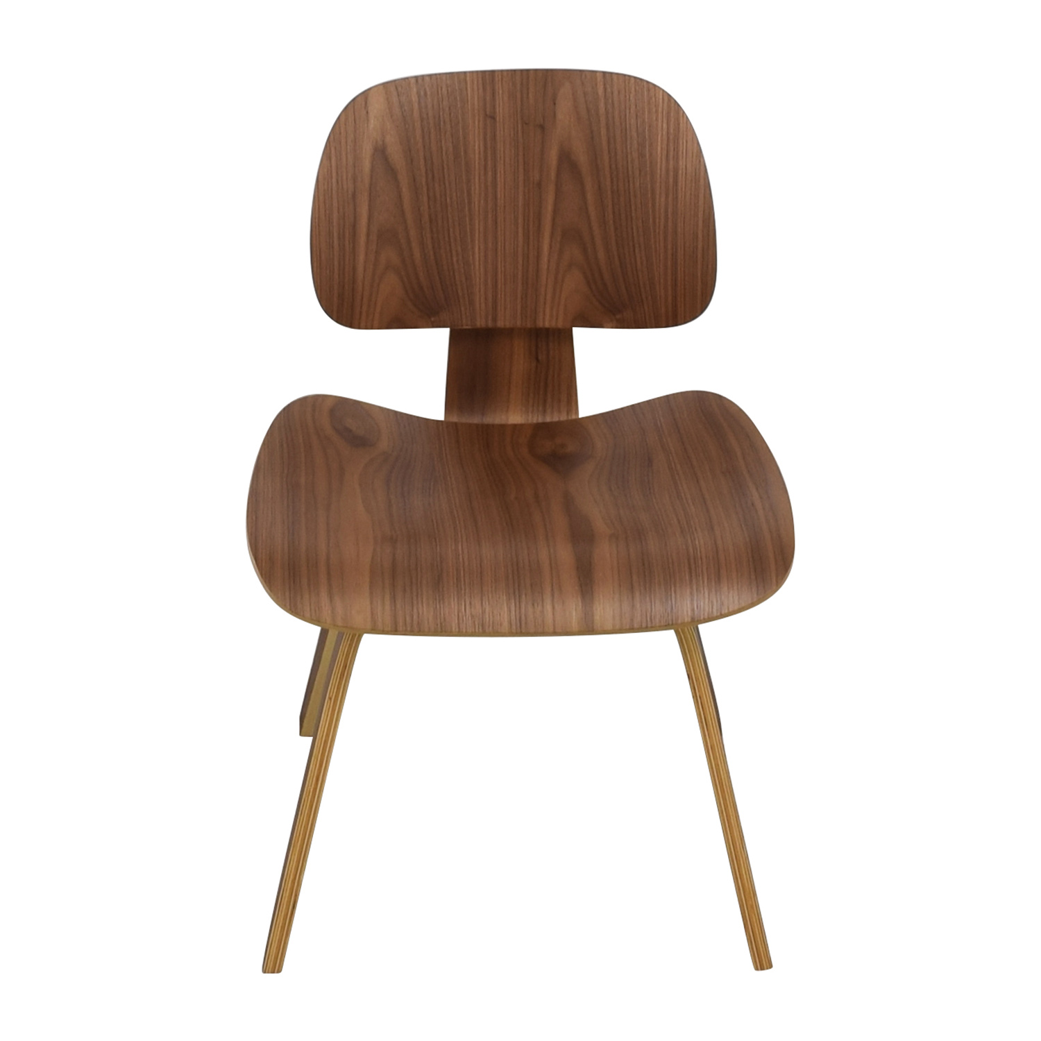 InMod InMod Plywood Dining Chair with Wood Legs nyc