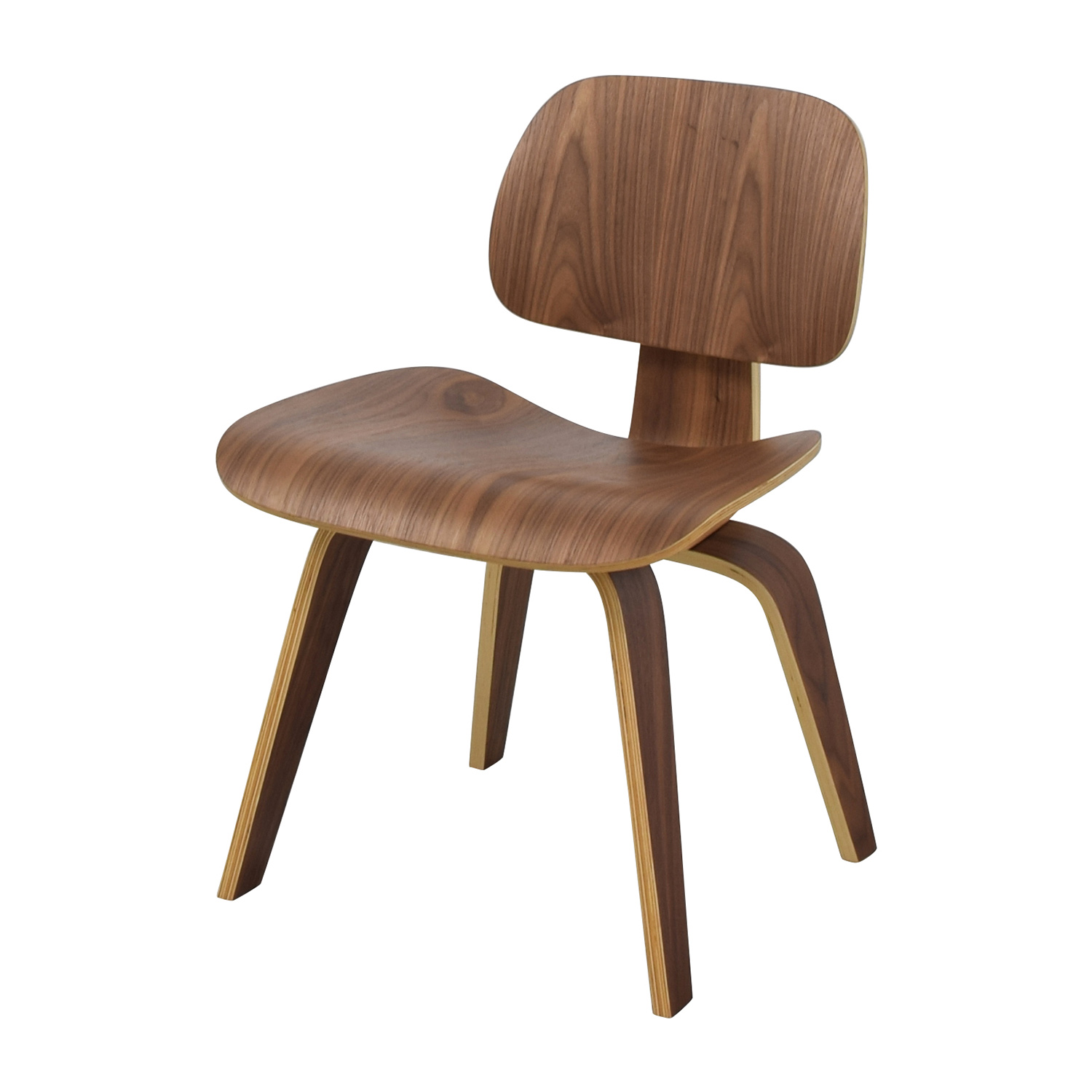 ... InMod InMod Plywood Dining Chair With Wood Legs Chairs ...