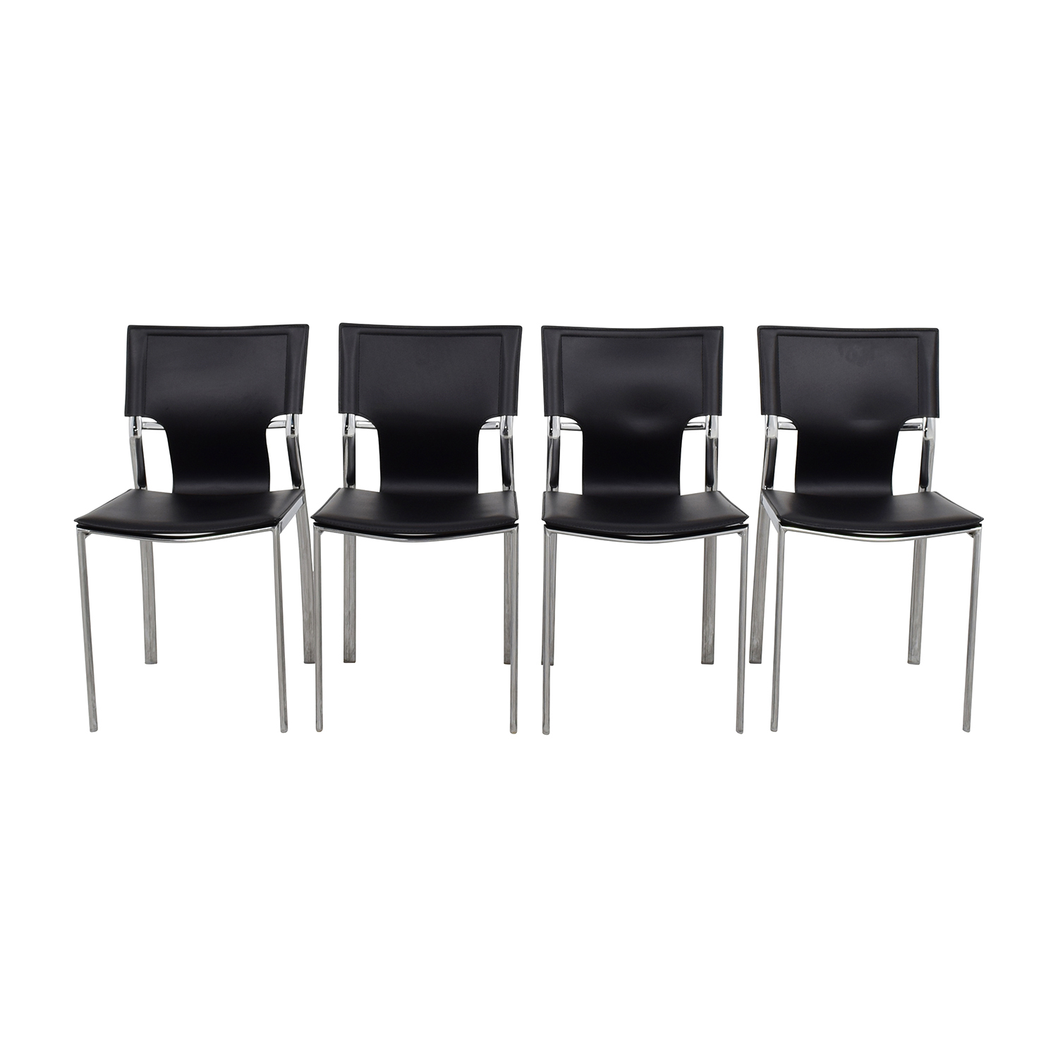 InMod InMod Vinnie Leather Side Chairs