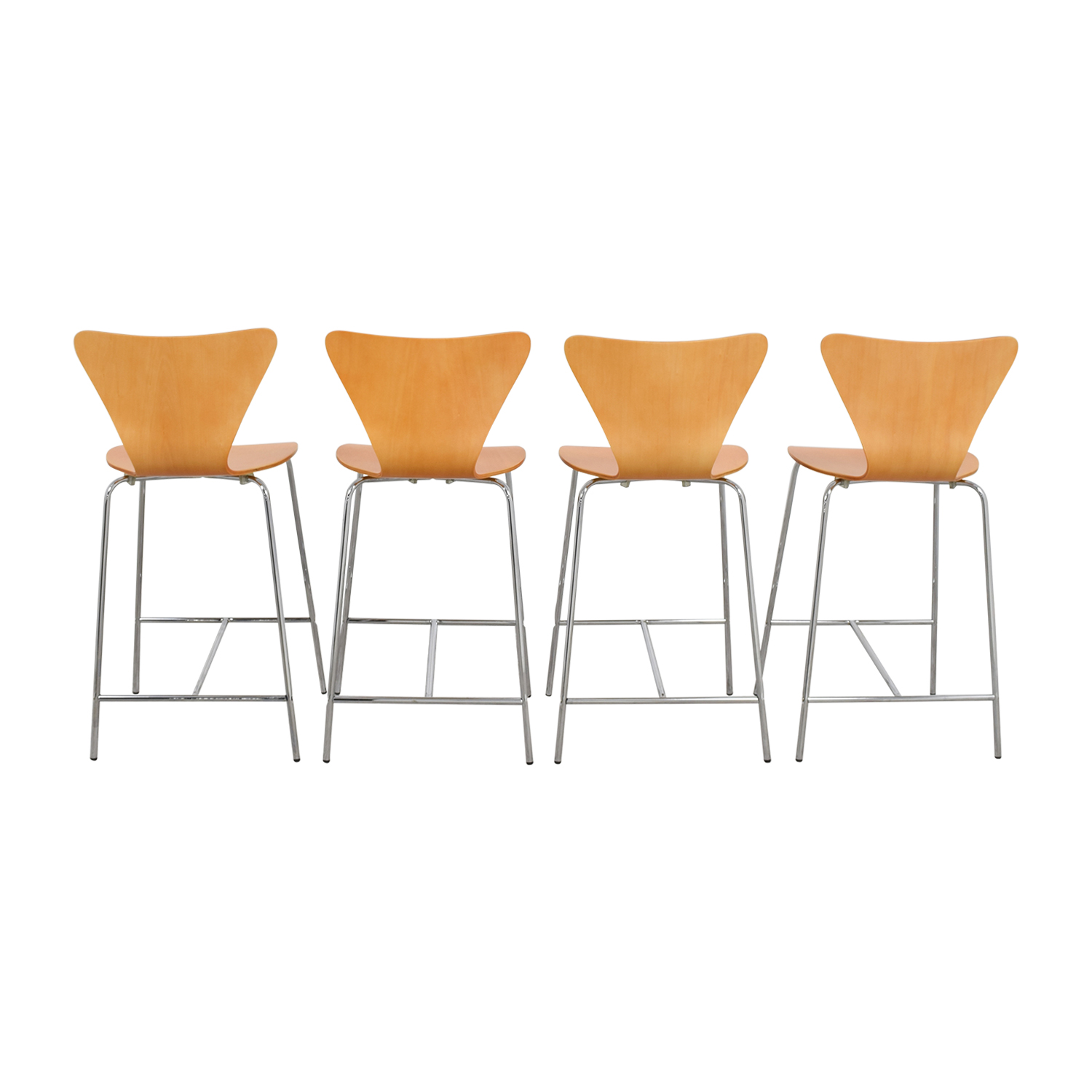 ... InMod InMod Tendy C Counter Chair Natural Second Hand ...