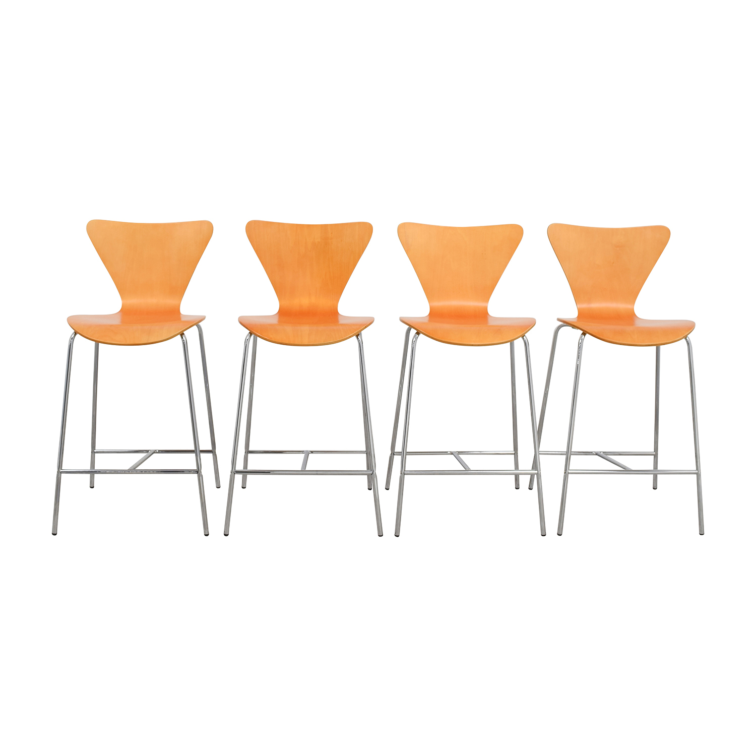 shop InMod Tendy-C Counter Chair Natural InMod Stools